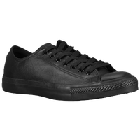 Converse All Star Ox Leather - Men's - All Black / Black