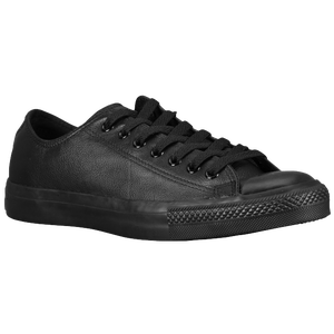 Converse All Star Ox Leather - Men's - Black-Black Monochrome
