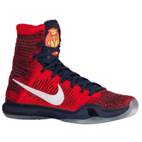 Nike Kobe 10 Elite - Men's -  Kobe Bryant - Red / White