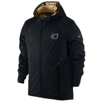 Nike KD Dagger Elite Jacket - Men's -  Kevin Durant - Black / Grey