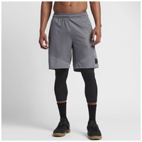 Nike HBR Shorts - Men's - Grey / Black