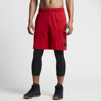 Nike HBR Shorts - Men's - Red / Black