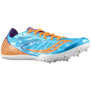 Saucony Endorphin MD 4 - Women's - Blue/Purple/Orange