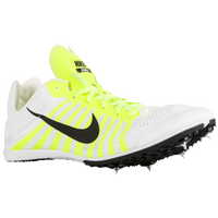 Nike Zoom D - Men's - White / Light Green