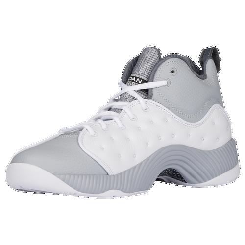 Jordan Jumpman Team II - Men\u0026#39;s - White / Grey