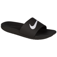 Nike Kawa Slide - Boys' Grade School - Black / White