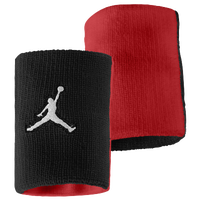 Jordan Jumpman Wristband - Adult - Black / Red