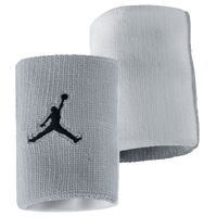 Jordan Jumpman Wristband - Adult - Grey / White