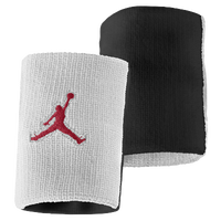 Jordan Jumpman Wristband - Adult - White / Black