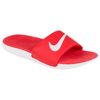 Nike Kawa Slide - Boys' Grade School - Red / White