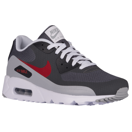 Nike Air Max 90 Ultra - Men\u0026#39;s - Running - Shoes - Dark Grey/Gym Red/Wolf Grey/Anthracite
