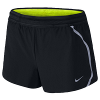 "Nike Dri-FIT 3"" Aeroswift Shorts - Women's - Black / Grey"