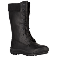 Timberland Woodhaven Tall Waterproof Boots - Women's - All Black / Black