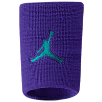 Jordan Dominate Wristband - Men's - Purple / Aqua