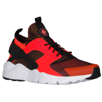 nike air huarache total crimson