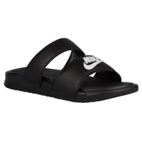 Nike Benassi Duo Ultra Slide - Women's - Black / White