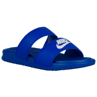 Nike Benassi Duo Ultra Slide - Women's - Blue / White