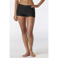 "Nike Dri-Fit 2"" Tempo Boy Shorts - Women's - All Black / Black"