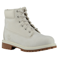 "Timberland 6"" Premium Waterproof Boots - Boys' Grade School - Grey / Brown"