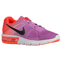 Nike Air Max Sequent - Women's - Purple / Orange