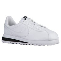 white nike cortez women