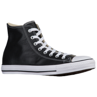 Converse All Star Leather Hi - Men's - Black / White