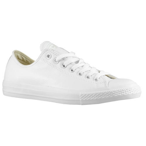 Mens Converse White Leather Shoes