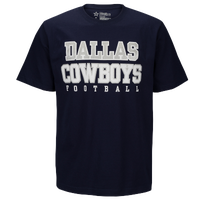 DCM NFL Practice Cotton T-Shirt - Men's - Dallas Cowboys - Navy / Grey