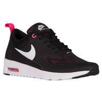 Nike Air Max Thea - Girls' Grade School - Black / White