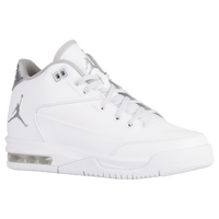 Jordan Flight Origin 3 - Boys' Grade School - White / Silver