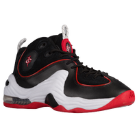 Nike Air Penny II - Boys' Grade School - Black / White
