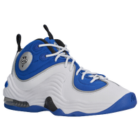 Nike Air Penny II - Boys' Grade School - White / Blue