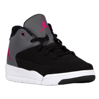 Jordan Flight Origin 3 - Girls' Preschool - Black / Pink