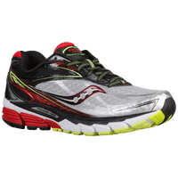 Saucony Ride 8 - Men's - Silver / Red