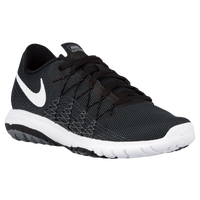 Nike Flex Fury 2 - Boys' Grade School - Black / White