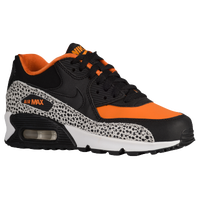 Nike Air Max 90 - Boys\u0026#39; Grade School - Black / Orange