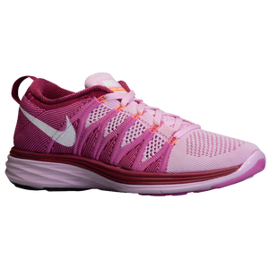 Nike Flyknit Lunar 2 - Women's - Light Arctic Pink/Red Violet/Raspberry Red/White