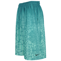 Nike LeBron Tamed AOP Shorts - Men's -  LeBron James - Aqua / Aqua