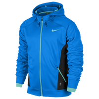 Nike Hero Outdoor Tech F/Z hoodie - Men's - Light Blue / Black
