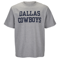 DCM NFL Coaches Cotton T-Shirt - Men's - Dallas Cowboys - Grey / Navy