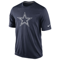 Nike NFL Dri-Fit Logo Legend T-Shirt - Men's - Dallas Cowboys - Navy / White