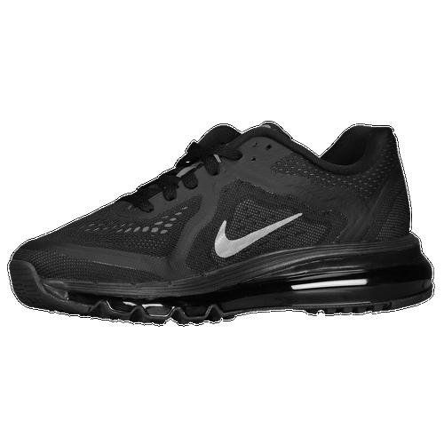 Nike Air Max 2014 - Women\u0026#39;s - Running - Shoes - Black/Anthracite/Dark Grey/Reflective Silver