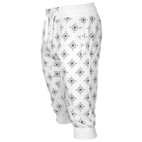 Southpole AOP 3/4 FT Jogger Pants - Men's - White / Black