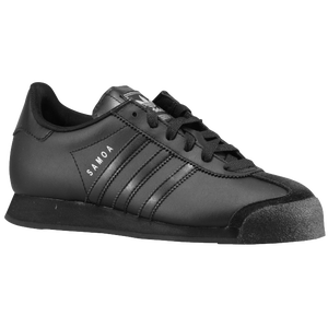 adidas Originals Samoa - Boys' Preschool - Black/Black/Metallic Silver