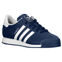 adidas Originals Samoa - Boys' Grade School - Navy / White