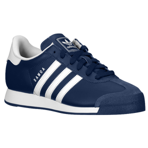 adidas Originals Samoa - Boys' Grade School - New Navy/White/White