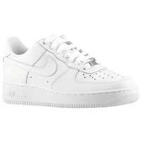 Nike Air Force 1 Low - Boys' Grade School - All White / White