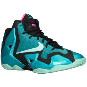 Nike LeBron 11 - Boys' Grade School - James, Lebron - Sport Turquoise/Medium Mint/Black
