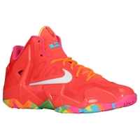 Nike LeBron XI - Boys' Grade School - Red / White