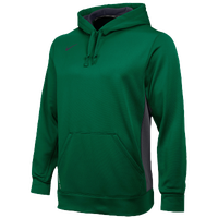 Nike Team KO Hoodie - Men's - Dark Green / Grey